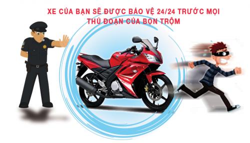 Khoa chong trom xe may Hai Phong - 2