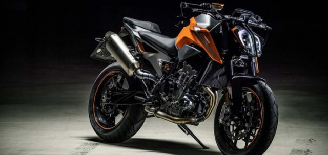 KTM tiet lo se gioi thieu mo hinh KTM 500cc 2 xilanh vao nam 2019