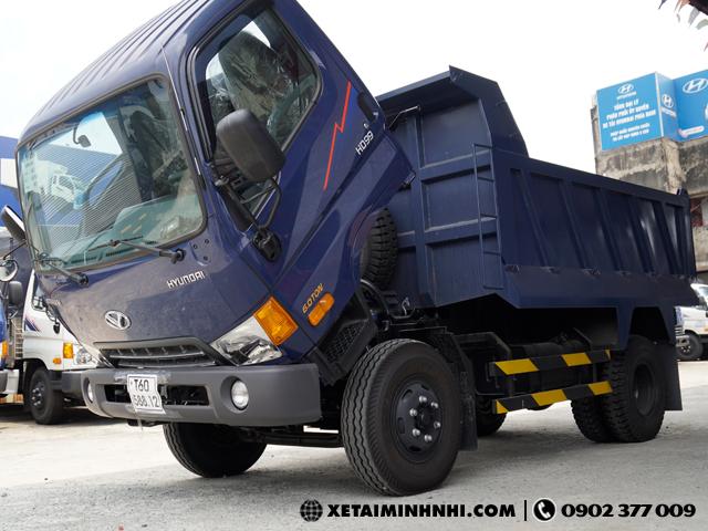 Mua Xe ben Hyundai HD99 6 tan 5 khoi nhan ngay khuyen mai lon - 2