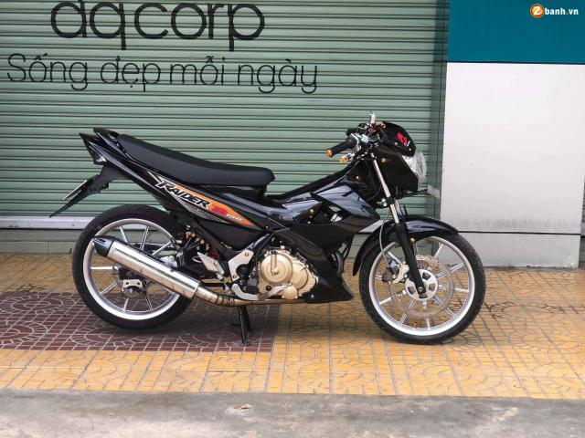 Raider 150 do dan chan voi option do choi chat lu dep khong tuong - 10