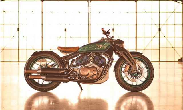 Royal Enfield KX Concept dang trong quyet dinh san xuat co the su dung phan khoi lon hon - 4