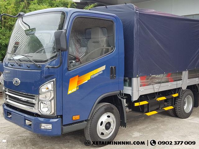 Showroom ban xe tai Teraco 25 tan thung bat Tera240S gia tot xe dep ho tro tra gop 80 - 2