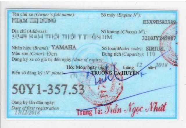 Sirius 2019 do den moi mua hang 15122018 xe chinh chu bs tp moi di dc 200km - 3