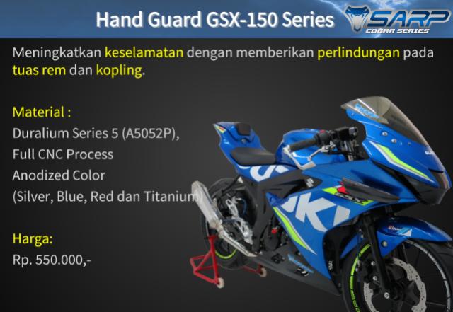 Suzuki GSX R150 voi option do choi chinh hang SARP tai thi truong Indo - 6