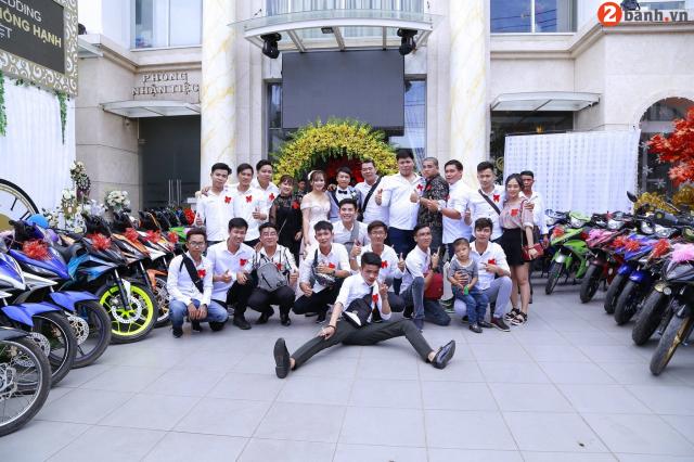 Team Exciter Kien Vang cuop dau voi doi hinh hoanh trang tai Sai Gon - 16