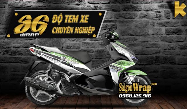 Tem Trum AB 2018 Mau Chat SaiGonWRAP Do Tem Xe Chuyen Nghiep - 5