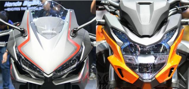 Tong hop 5 diem noi bat cua bo ba Honda 500 Series tai su kien Motor Expo 2018