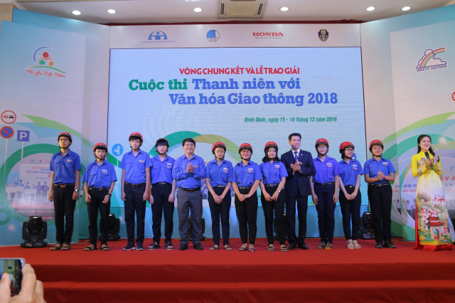 Vong chung ket va le trao giai cuoc thi Thanh nien voi Van hoa giao thong nam 2018 - 8