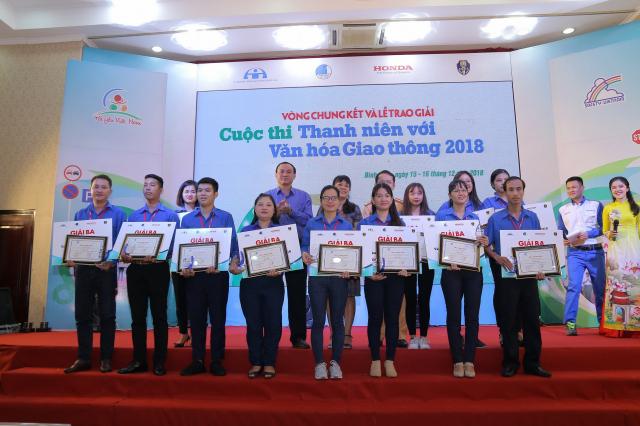 Vong chung ket va le trao giai cuoc thi Thanh nien voi Van hoa giao thong nam 2018 - 7