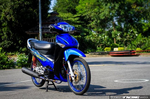 Wave 125 do dan chan Sexy cua dan choi Thailand - 3
