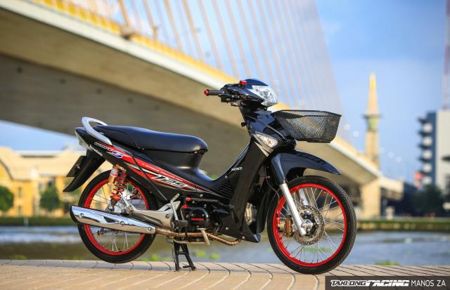 Wave 125 do option do choi dep bat tu theo thoi gian cua biker nuoc ban - 8