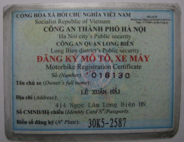 xe SH 150i doi 2010 nhap khau mau man xe chinh chu dang ky 72010 - 8