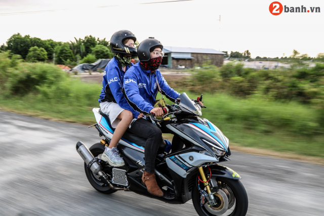 Yamaha NVX TPHCM NHC voi Caravan Hanh trinh Ket noi dam me tiep suc den truong lan I - 16