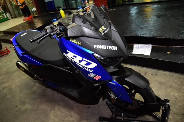 Yamaha XMax300 do nang cap tuyet doi tu BD Speed Racing