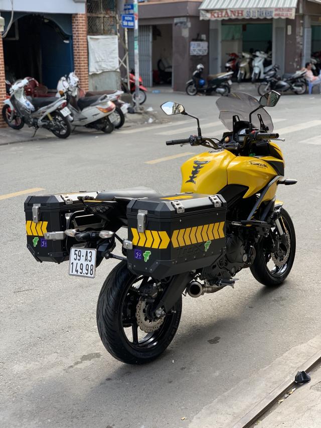 _ Can Ban kawasaki Versys 650cc ABS chia khoa hiss DKLD 2016 mau xam Den odo 7000km HQCN - 6