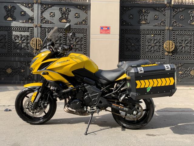 _ Can Ban kawasaki Versys 650cc ABS chia khoa hiss DKLD 2016 mau xam Den odo 7000km HQCN - 8