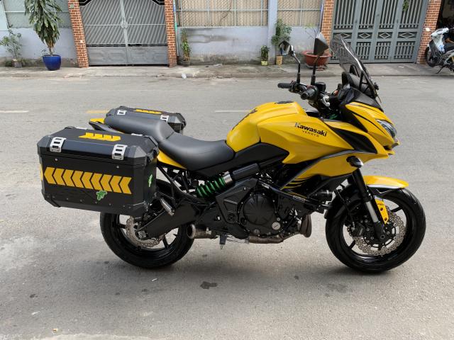 _ Can Ban kawasaki Versys 650cc ABS chia khoa hiss DKLD 2016 mau xam Den odo 7000km HQCN - 9