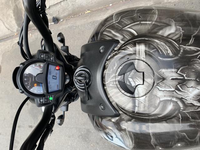 _ Can Ban kawasaki Vulcan S 650cc ABS chia khoa hiss DKLD T82016 mau xam Den odo 5000km HQCN - 5