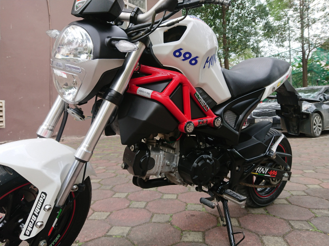 Ban Ducati 110 mini Monster 2017 nguyen ban nhu moi 4000km - 4