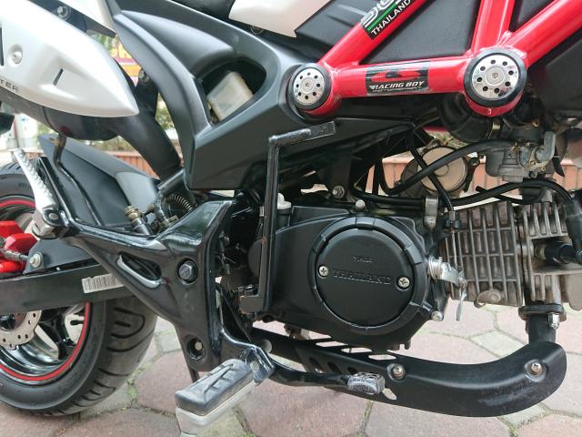 Ban Ducati 110 mini Monster 2017 nguyen ban nhu moi 4000km - 5
