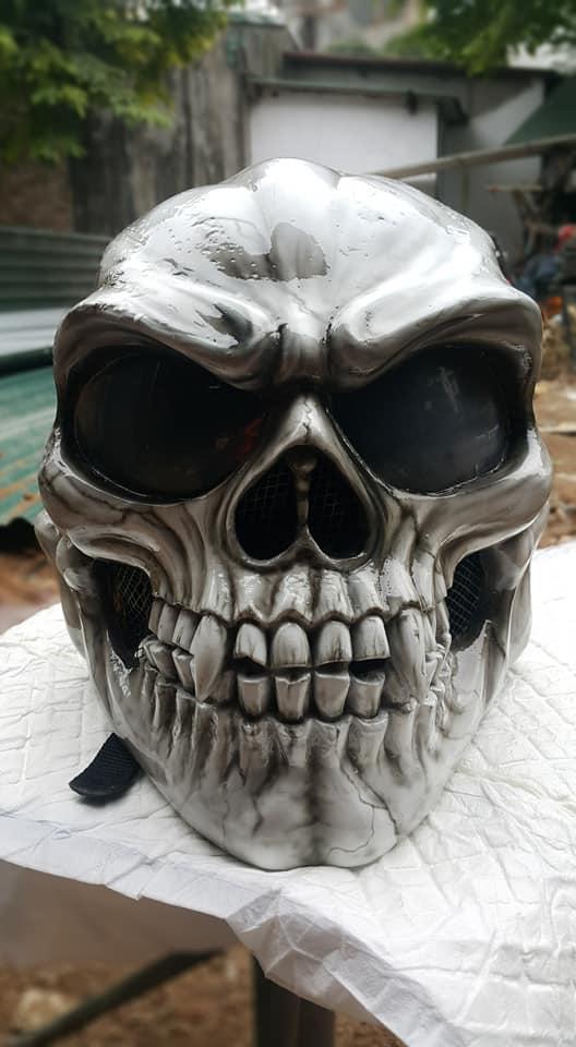 Ban Mu Bao Hiem Dau Lau Helmet Skull made in Viet Nam