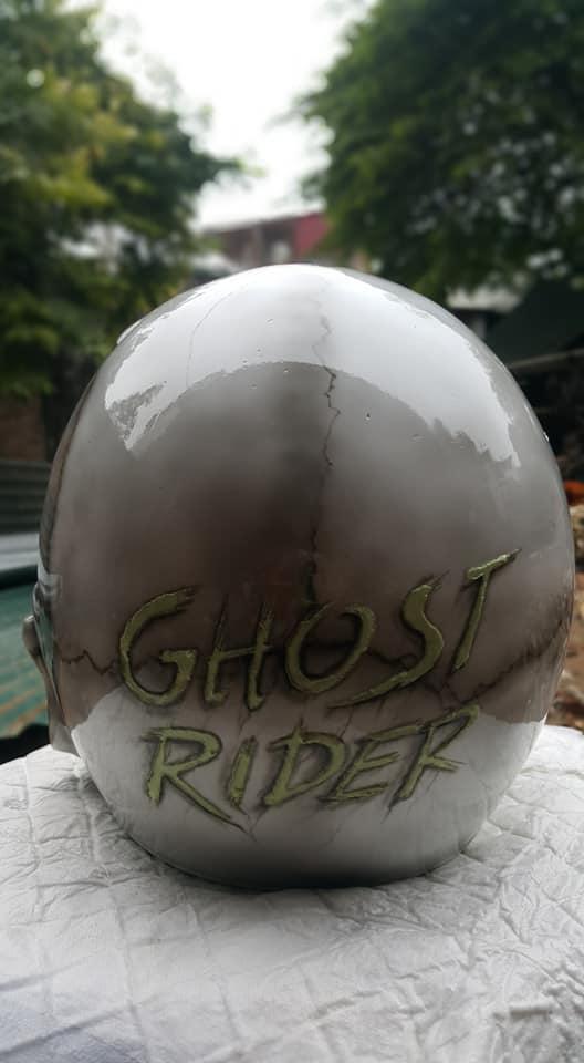 Ban Mu Bao Hiem Dau Lau Helmet Skull made in Viet Nam - 2