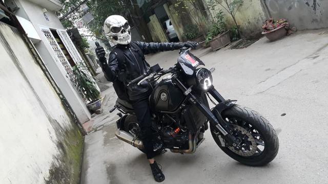 Ban Mu Bao Hiem Dau Lau Helmet Skull made in Viet Nam - 3