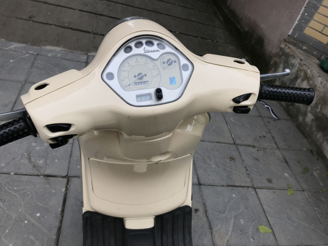 Ban xe LX 125 vang kem 2009 bien HA NOI 5 so Xe rat moi - 3