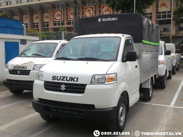 Ban xe tai Suzuki Pro 580kg thung mui bat gia canh tranh