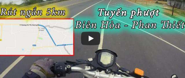 Biker kham pha ra con duong dep rut ngan lo trinh 5km tu Bien Hoa den Phan Thiet