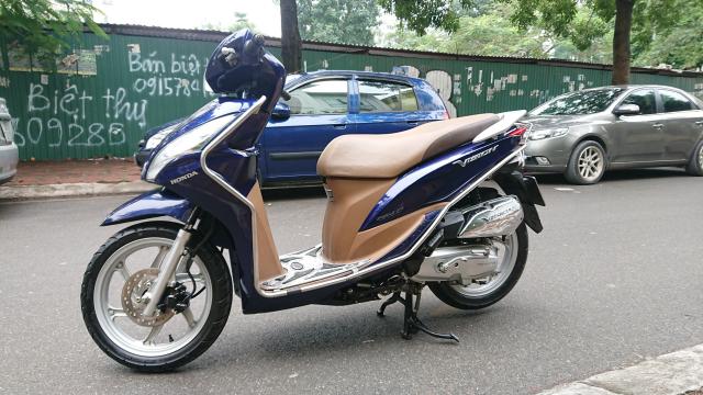 Can ban Honda Vision fi 2014 xanh tim con rat moi chinh chu nha su dung bien Hn - 5