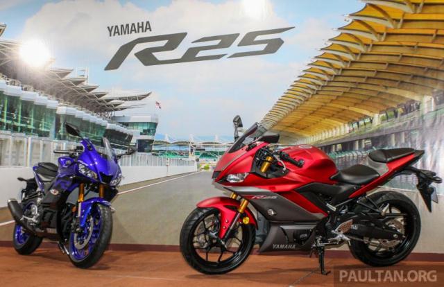 Can canh Yamaha R25 2019 vua chinh thuc ra mat tai Malaysia - 3