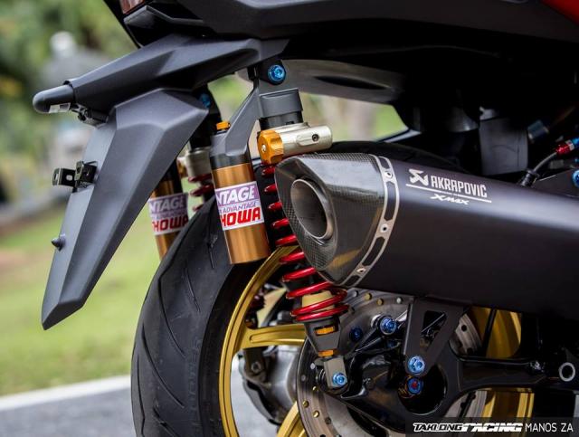 Cap doi Yamaha XMax300 do noi bat voi he mam CNC Over Racing cao cap - 15