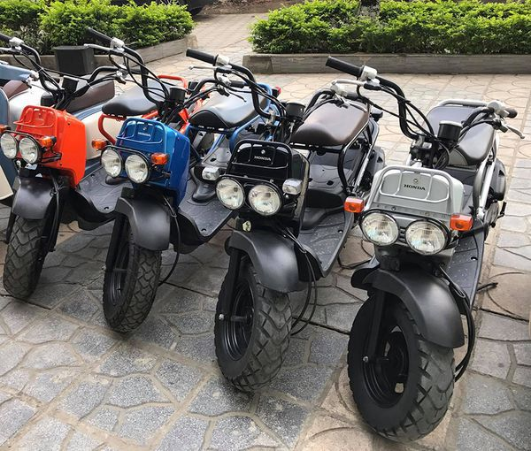 Chon mua ngay Honda Zoomer 50cc cu co bao hanh tai Xe Nhat Doc