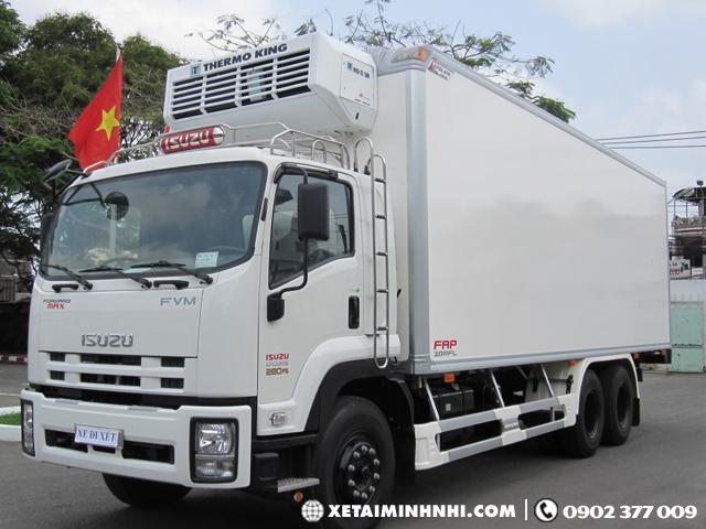 Cong ty ban xe dong lanh Isuzu 13T5 FVM34WE4 khuyen mai cuc khung