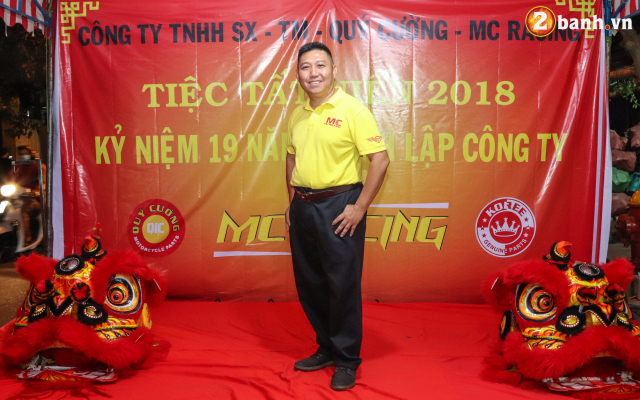 Cong ty TNHH SX TM Quy Cuong MC Racing to chuc buoi tiec tat nien 2018 - 10