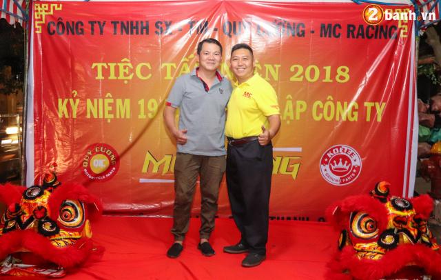 Cong ty TNHH SX TM Quy Cuong MC Racing to chuc buoi tiec tat nien 2018 - 11