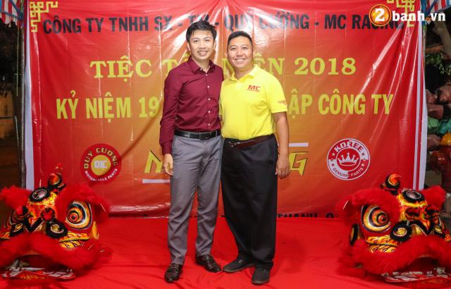 Cong ty TNHH SX TM Quy Cuong MC Racing to chuc buoi tiec tat nien 2018 - 12