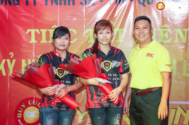 Cong ty TNHH SX TM Quy Cuong MC Racing to chuc buoi tiec tat nien 2018 - 21