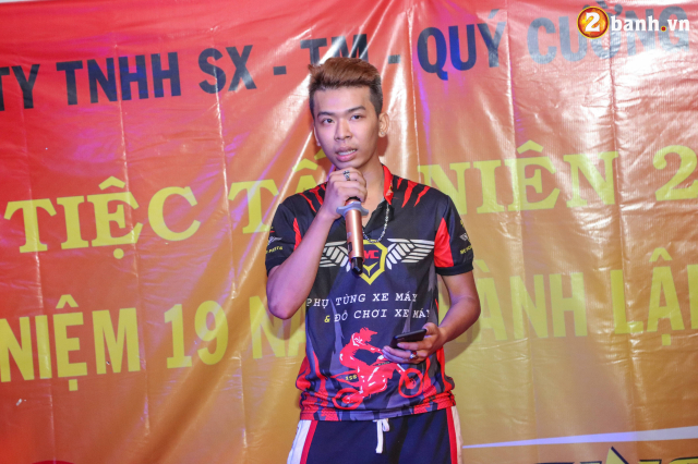 Cong ty TNHH SX TM Quy Cuong MC Racing to chuc buoi tiec tat nien 2018 - 22