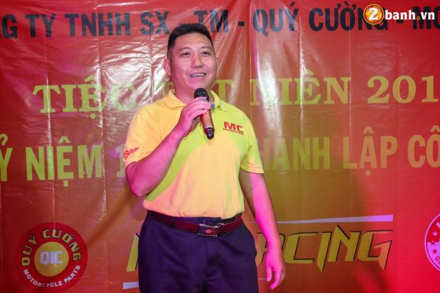 Cong ty TNHH SX TM Quy Cuong MC Racing to chuc buoi tiec tat nien 2018 - 25