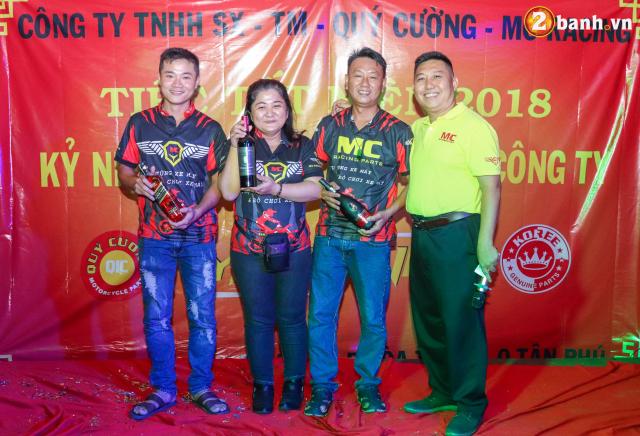 Cong ty TNHH SX TM Quy Cuong MC Racing to chuc buoi tiec tat nien 2018 - 26