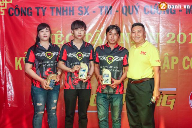 Cong ty TNHH SX TM Quy Cuong MC Racing to chuc buoi tiec tat nien 2018 - 28