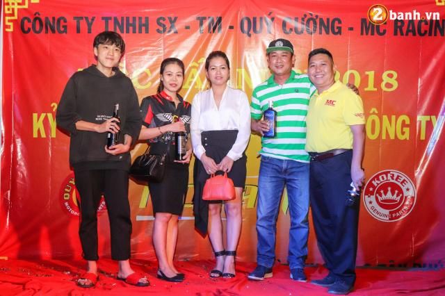 Cong ty TNHH SX TM Quy Cuong MC Racing to chuc buoi tiec tat nien 2018 - 29