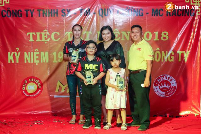 Cong ty TNHH SX TM Quy Cuong MC Racing to chuc buoi tiec tat nien 2018 - 30
