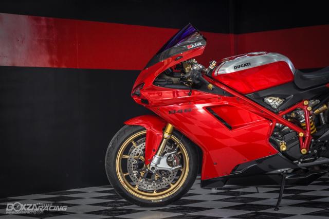 Ducati 848 EVO Huyen thoai Sport lam say dam bao nguoi trong dien mao phuc sinh