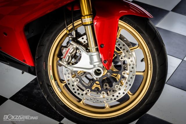 Ducati 848 EVO Huyen thoai Sport lam say dam bao nguoi trong dien mao phuc sinh - 12