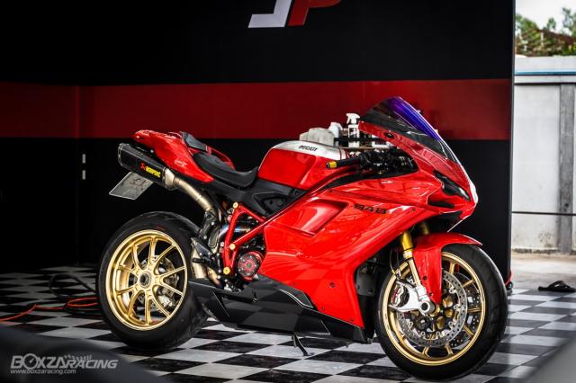 Ducati 848 EVO Huyen thoai Sport lam say dam bao nguoi trong dien mao phuc sinh - 19
