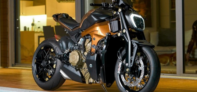 Ducati V4 Penta do Streetfighter dau tien den tu GP Design Luxury Snack - 3