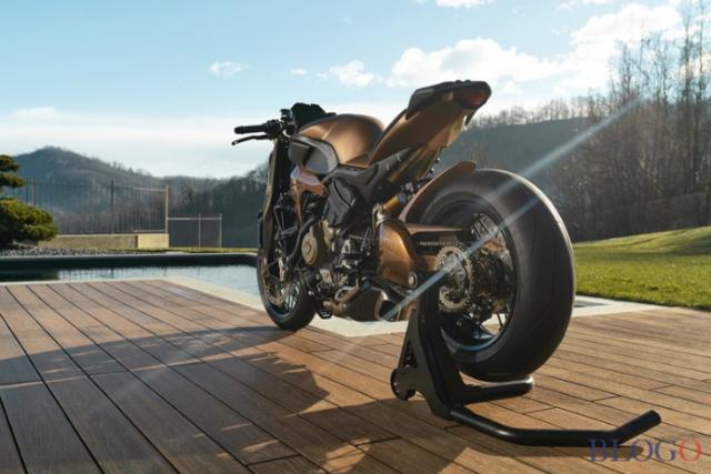 Ducati V4 Penta do Streetfighter dau tien den tu GP Design Luxury Snack - 6
